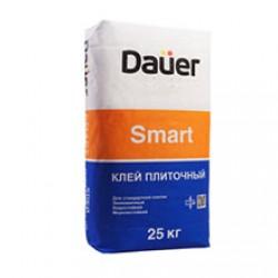 Клей для плитки и укладки керамогранита на пол Dauer Smart 25 кг