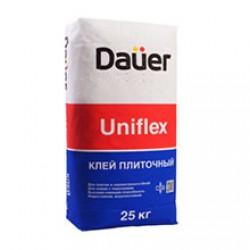 Клей для плитки, керамогранита, декоративного камня Dauer Uniflex 25 кг