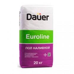 Наливной пол быстротвердеющий Dauer Euroline 20 кг