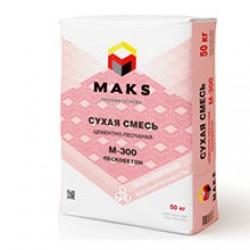 Сухая смесь Мaks М-300 Пескобетон 40 кг