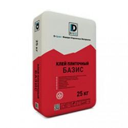 Клей плиточный Базис De Luxe 25 кг