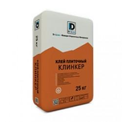 Клей плиточный Клинкер De Luxe 25 кг