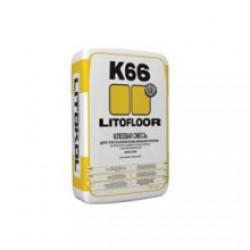 Клей для плитки Litokol Litofloor K66 25 кг серый