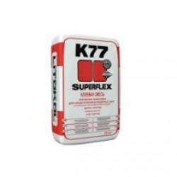Клей для плитки Superflex K77 5 кг серый