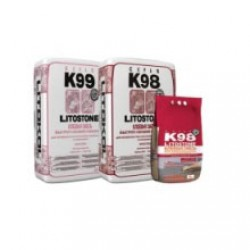 Клей для плитки и камня Litokol Litostone K98 25 кг серый