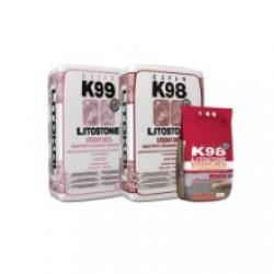 Клей для плитки и камня Litokol Litostone K99 25 кг Белый