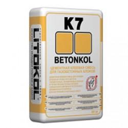 Монтажная кладочная смесь Litokol Betonkol K7 25 кг