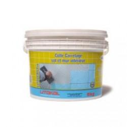 Дисперсионный пастообразный клей Litokol Litoacril Fix 5 кг Белый