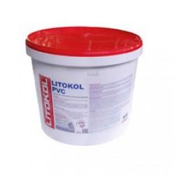 Клей для ПВХ и текстильных напольных покрытий Litokol PVC 20 кг бежевый