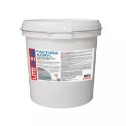 Декоративная акриловая штукатурка Litokol Litotherm Factura Acryl (1,5 мм) 25 кг
