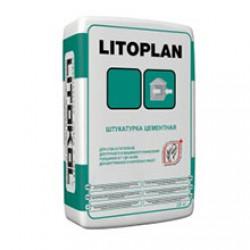 Штукатурный состав Litokol Litoplan 25 кг серый