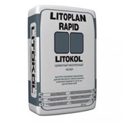 Штукатурный состав Litokol Litoplan Rapid 25 кг серый