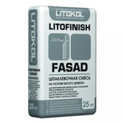 Шпаклевка Litokol Litofinish Fasad 25 кг Белая