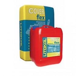 Двухкомпонентная гидроизоляционная смесь Litokol Coverflex A Bag 20 кг