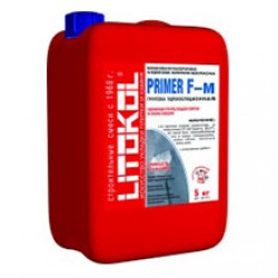 Грунтовка для гидроизоляции Litokol Primer F-m желтая канистра 5 кг