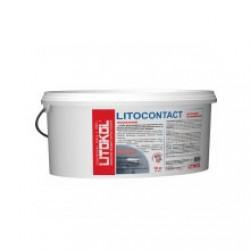 Грунтовка адгезионная Litokol Litocontact Белая канистра 10 кг