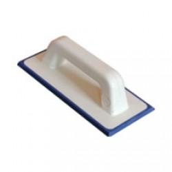 Шпатель резиновый синий для нанесения цементной затирки 115х250 мм