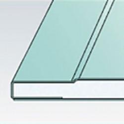 Гипсокартонный лист влагостойкий Gyproc Аква Стронг 2500х1200х15 мм