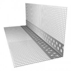 Профиль угловой ПВХ с армирующей сеткой 10х15 мм 2500 мм FasadPro