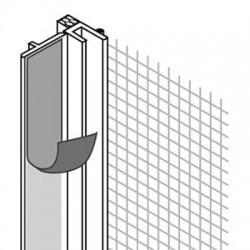 Профиль ПВХ Baukom оконный примыкающий 6х2400 мм