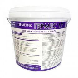 Герметик акриловый Гермес 17 для межпанельных швов ведро 10л/15кг