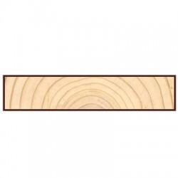 Доска фасадная Cкандинавская профиль угловая/лобовая доска 6000х134х20мм сосна-ель