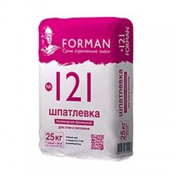 Шпатлевка полимерная Forman 121 финишная 25 кг