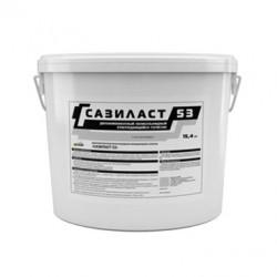 Двухкомпонентный полисульфидный герметик Сазиласт 53 15,4 кг серый