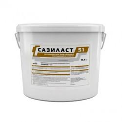 Двухкомпонентный полисульфидный герметик Сазиласт 51 15,4 кг серый