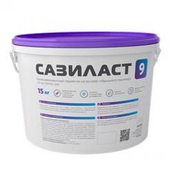 Однокомпонентный герметик на основе гибридного полимера Сазиласт 9 15 кг белый