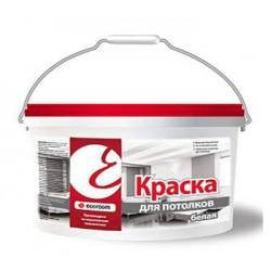 Краска для потолков Ecoroom белая ведро 1,4 кг