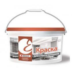 Краска для стен и потолков Ecoroom белая