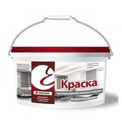 Краска интерьерная влагостойкая Ecoroom белоснежная 98% белизны