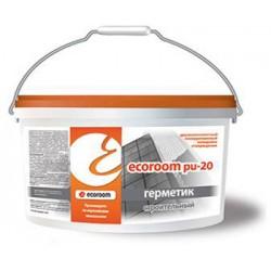 Двухкомпонентный полиуретановый герметик Ecoroom PU 20 ведро 10л/16,5 кг