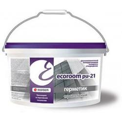 Двухкомпонентный полиуретановый герметик Ecoroom PU 21 ведро 10л/16,5 кг