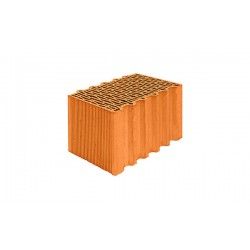 Поризованный керамический блок Porotherm 38 Thermo М75 10,67 NF